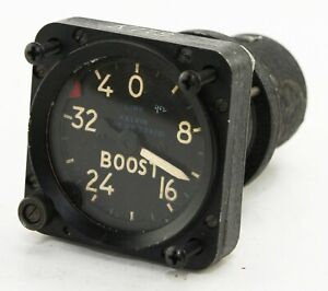 Boost gauge for Link trainer reading -4 to +32 PSI (GC4)