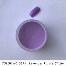 SUPER SHINE Dipping Powder Nail  Acrylic Lavender Purple Glitter System   56.5g