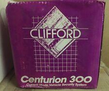 Clifford CENTURION 300 OG Car Alarm w remote/transmitter manual 100% COMPLETE