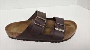 Birkenstock Arizona Slide Sandals, Brown, Men's 10 M (EU 43)