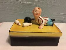 """Buffer The Bowler"""" Trinket Box Designed by James Summers by Shafford Company"""