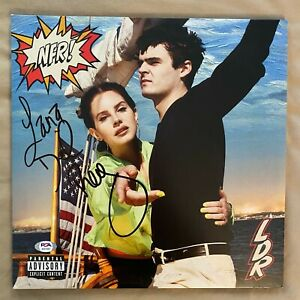 Lana Del Rey Signed Norman F*cking Rockwell! Album with PSA/DNA COA
