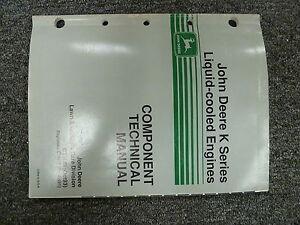 John Deere FD620DAS02 Engine in 425 Tractor Shop Repair Technical Manual CTM39