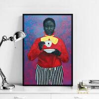 Framed Man Ray Dora Maar Artworks Wall Poster Print 47 36 24 16 Inches