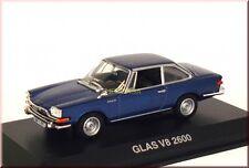Vidrio v8 2600 1966-1967 - azul Blue Bleu azzurro azul met. - norev 820530 1:43