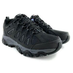 Skechers Men's Terrabite Black Charcoal Hiking Shoes 51844 Sizes 8.5 - 12 M