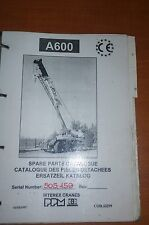Terex Ppm Crane Spare Parts Catalogue