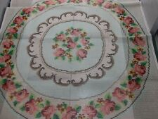 """Handpainted Rug Canvas Smyrna Laine 59"""" 3.5 sts to """" close out Europe"""