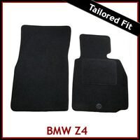BMW Z4 E85 E86 2002-2008 Tailored Fitted Carpet Car Floor Mats BLACK