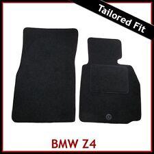 BMW Z4 E85 E86 2002-2008 Tailored Fitted Carpet Car Floor Mats BLACK