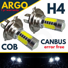 H4 SUPER WHITE CREE 472 LED 80W MAIN BEAM HEADLIGHT BULBS LAMP LIGHT 2X