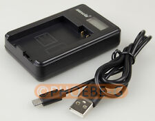 LP-E8 LPE8 USB Battery Charger with LCD For Canon EOS 550D 600D 650D 700D