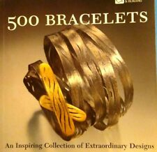500 Contemporary Custom Designer Art Bracelets Gold Silver Gemstone Bead Jewelry