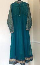 Vestido de fiesta del sur de Asia Hermoso Anarkali vestido con choori Pijama & dupata