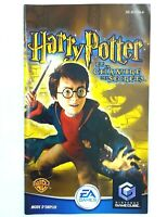 Notice jeu Nintendo Gamecube Harry Potter et la chambre des secrets PAL FR