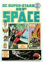 Super-Stars of Space #2 Comic Book DC 1976 9.6  Hawkman Adam Strange  See Scans