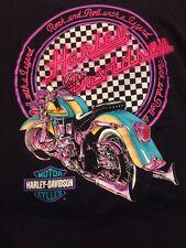 Harley Davidson Motorcycles T-Shirt L 1994 Vintage Holoubek Biker Rock & Roll