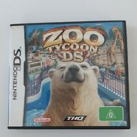 Nintendo DS Zoo Tycoon DS Preowned Manual