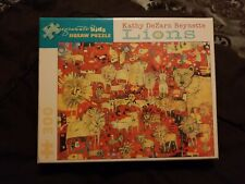 Pomegranate Kids Jigsaw Puzzle Lions Kathy DeZarn Beynette 300 Piece Sealed