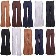 Other Casual Regular Size Flared Trousers for Women