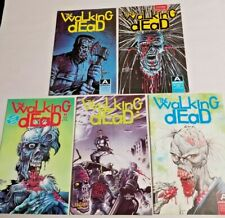 Walking Dead 1 2 3 4 + Zombie Special 1989 Aircel Complete Run Set Lot