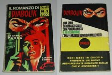 IL ROMANZO DI DIABOLIK n° 1  1969 SANSONI EDITORE BUONO NOIR