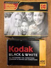 Kodak 400 Film Black & White 35mm 24 Exp. Expired 01/2005