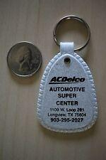 AC Delco Automotive Super Center Longview Texas Gray Keychain Key Ring #25983