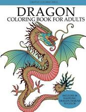Dragon Coloring Book for Adults: Dazzling Dragon Designs to Color (Paperback or