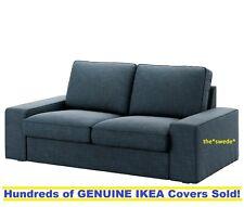 2 Seat Sofa Cover Slipcover NOLHAGA DARK GRAY Sealed! Ikea STOCKSUND Loveseat