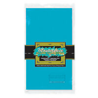 Masterpiece Plastic Rectangular Tablecover (turquoise) Party Accessory (1 cou...