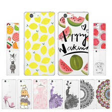 Soft TPU Silicone Case For Sony Xperia Z3 Compact Phone Back Cover Skins Clear