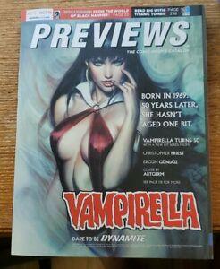 Previews Comics Catalog October 2019 Vampirella