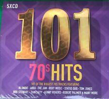 101 70's HITS 5 CD BOXSET (SEVENTIES) New  Sealed