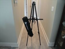 Sierra Aluminum Travel Tripod Easel with Carrying Case Art Alternatives