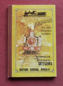 AFRICA - NYASALAND & THE SHIRE HIGHLANDS RAILWAY GUIDE BLANTYRE BIG GAME MALAWI