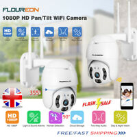 1080P Wireless WIFI IP Camera Auto/Motion Tracking CCTV Home Security IR Outdoor