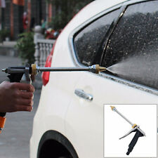 High Pressure Metal Hose Long Rod Nozzle Water Sprayer Vehicle Wash Lawn Garden