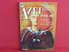 Azel Panzer Dragoon RPG Official Guide Book (SEGA OFFICIAL BOOKS) / SS