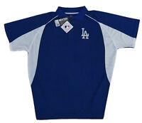 Los Angeles Dodgers MLB Majestic Men's Royal Blue Golf Polo Big & Tall NWT