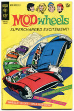 Mod Wheels 1 VF- 7.5 Gold Key 1971 George Wilson Painted Cover