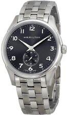 H38411183 Hamilton Thinline Mens Watch Quartz Black Dial Stainless Steel