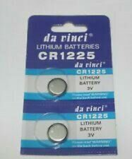 2 x 3V CR1225 DL1225 BR1225 LM1225 1225 Lithium Coin Battery New & Fresh US Ship