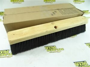 "NEW! PAIR OF 18"" FLOOR BRUSHES / BROOMS"