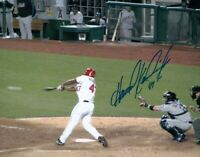 Howie Kendrick Signed Autographed 8X10 Photo Angels Home at Bat. Vs Mets COA