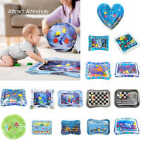 Baby Inflatable Patted Climbing Ice Pad Water Cushion Play Mat Ocean Fish Toy