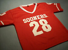 OKLAHOMA SOONERS OU FOOTBALL JERSEY SHIRT MEDIUM boys
