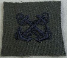 US Navy Boatswain's Mate Specialty Mark On Gabardine Cloth