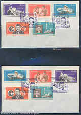 Paraguay 1965 John F. Kennedy Churchill Space Set Kof Of Two First Day Covers