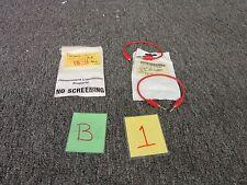 3 ITT POMONA 1985-5 TEST LEAD BANANA PLUGS ELECTRICAL RED WIRE MALE JACK NEW